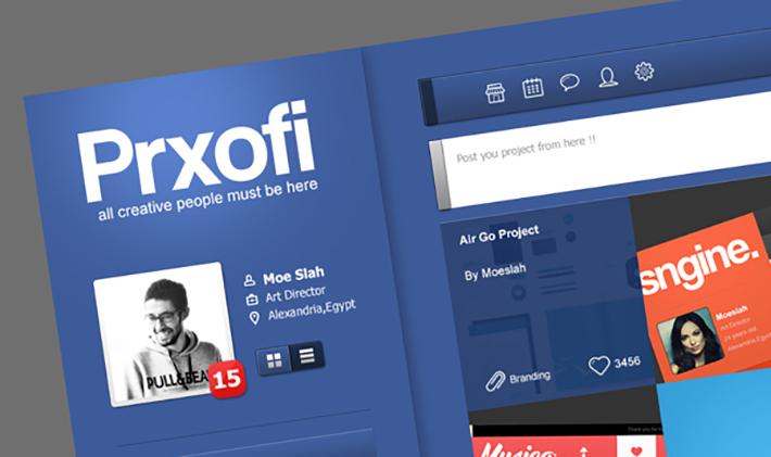 Prxofi UI Concept by Moe Slah